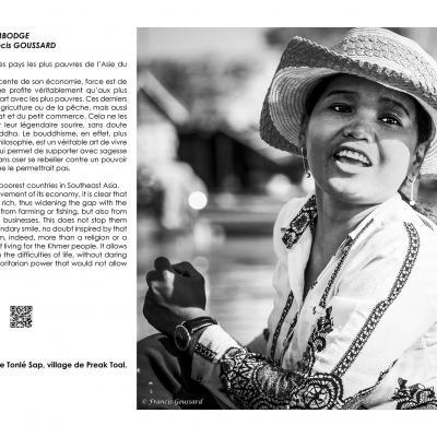 Cambodge - Francis Goussard, à Laurac