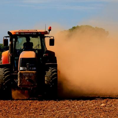 1 new tractor in action