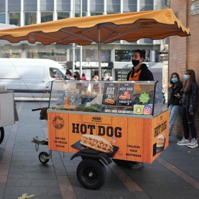 18 hot dog