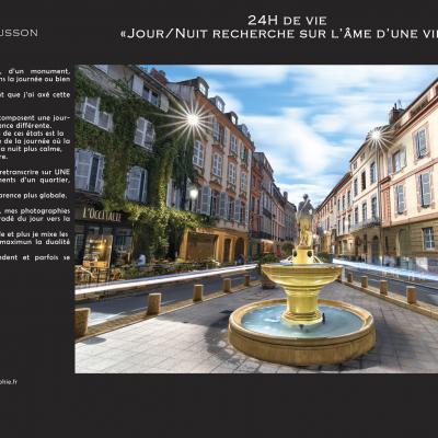 24h de vie - Tanguy Chausson à Castelnaudary, Moulin de Cugarel