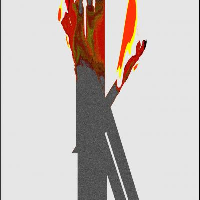 6 collection les allumettes torche olympique