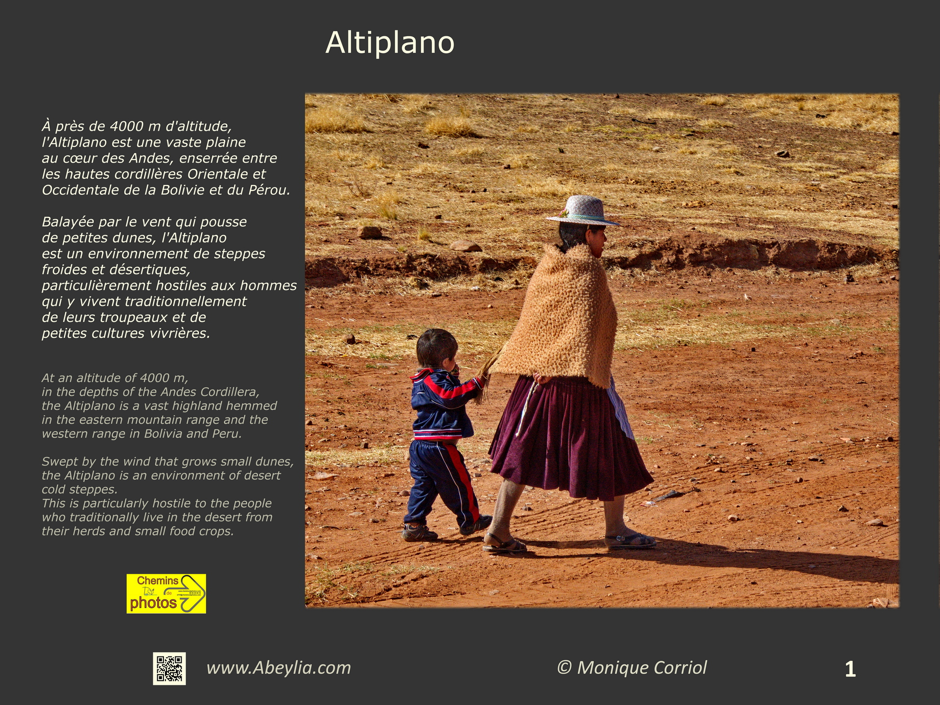 Altiplano - Monique Corriol à Alaigne