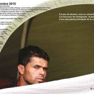 Athènes, septembre 2015 - Christos Pavlidès à Ferran