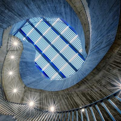 Concrete blue