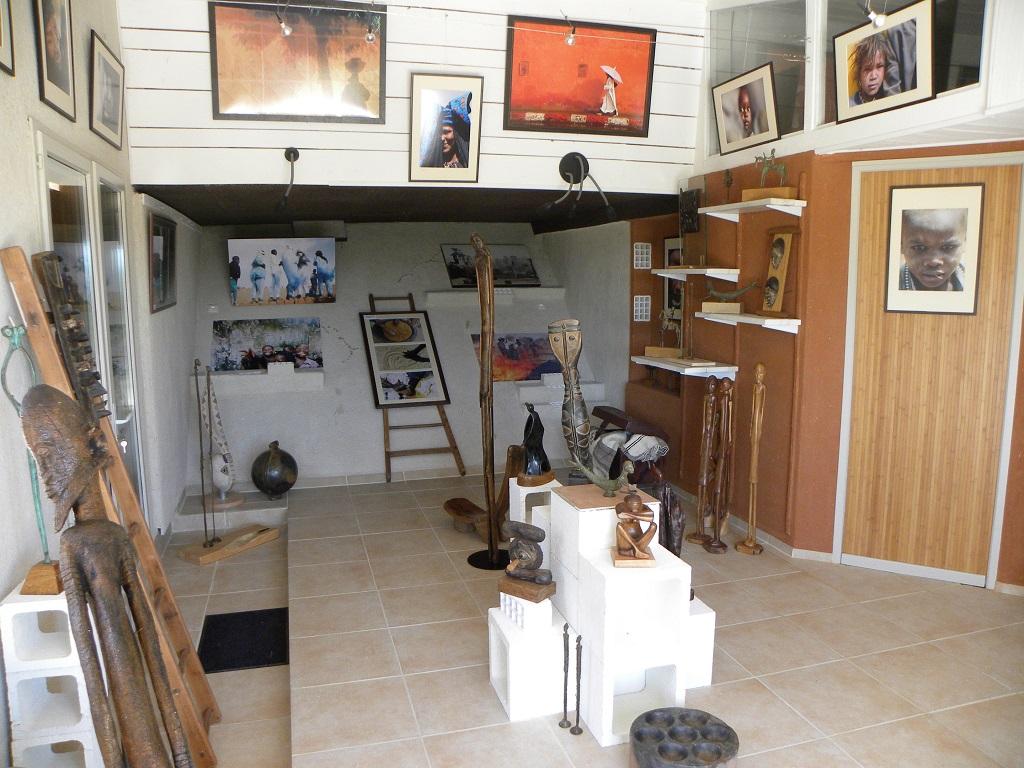 Marc Déotte à la Galerie Nyéna - Solianterre - Fenouillet du Razès.