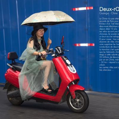 Deux roues en Chine - Francis Tack, à Laurabuc