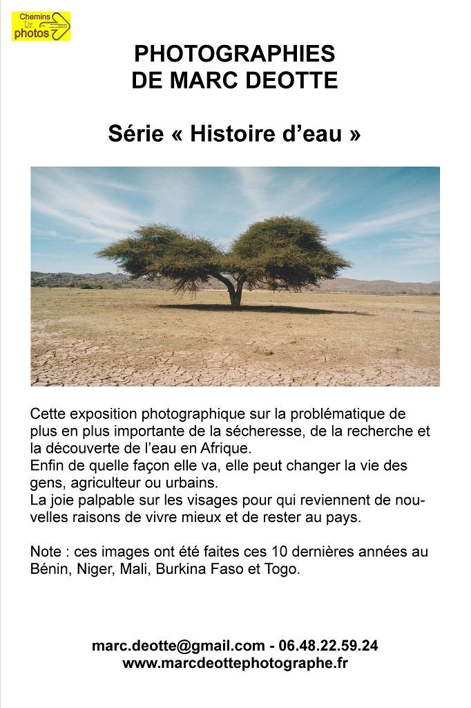 Histoire d'eau - Marc Deotte à Bram, Canal du Midi