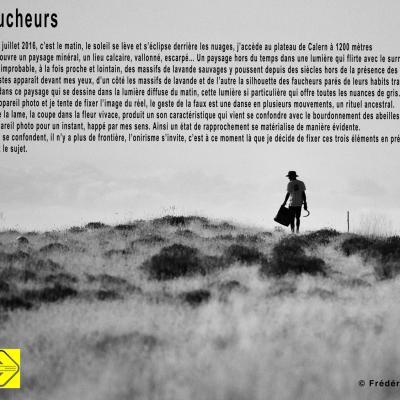 Faucheurs - Frédéric Pasquini à Ferran