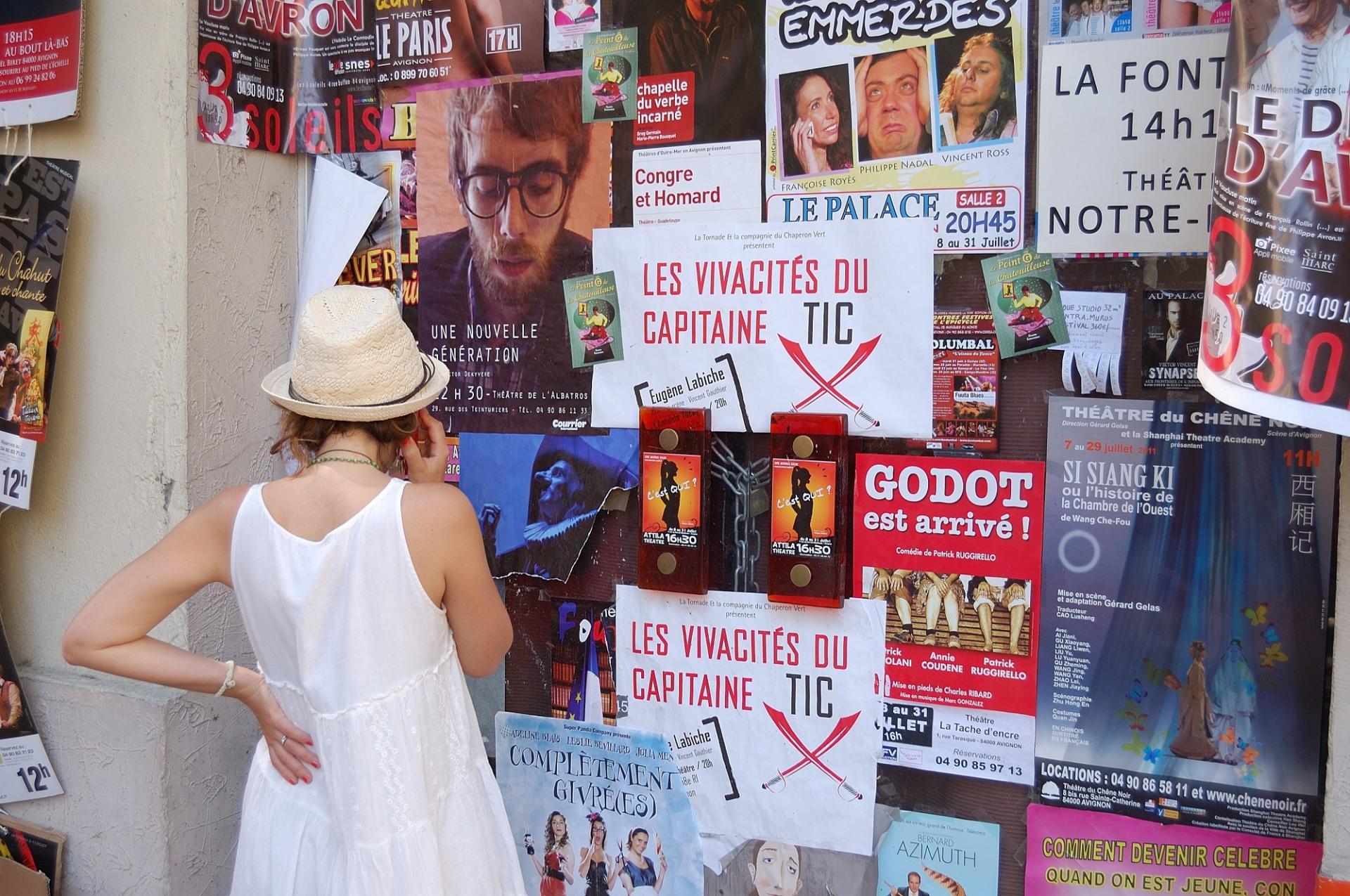 Festival d'Avignon, de Jean-Pierre Montagné