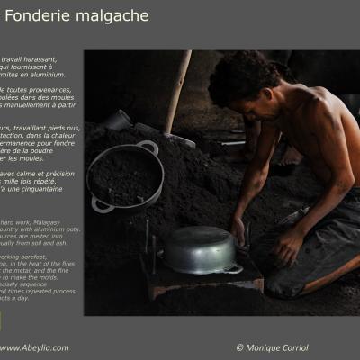 Fonderie malgache - Monique Corriol à Ferran