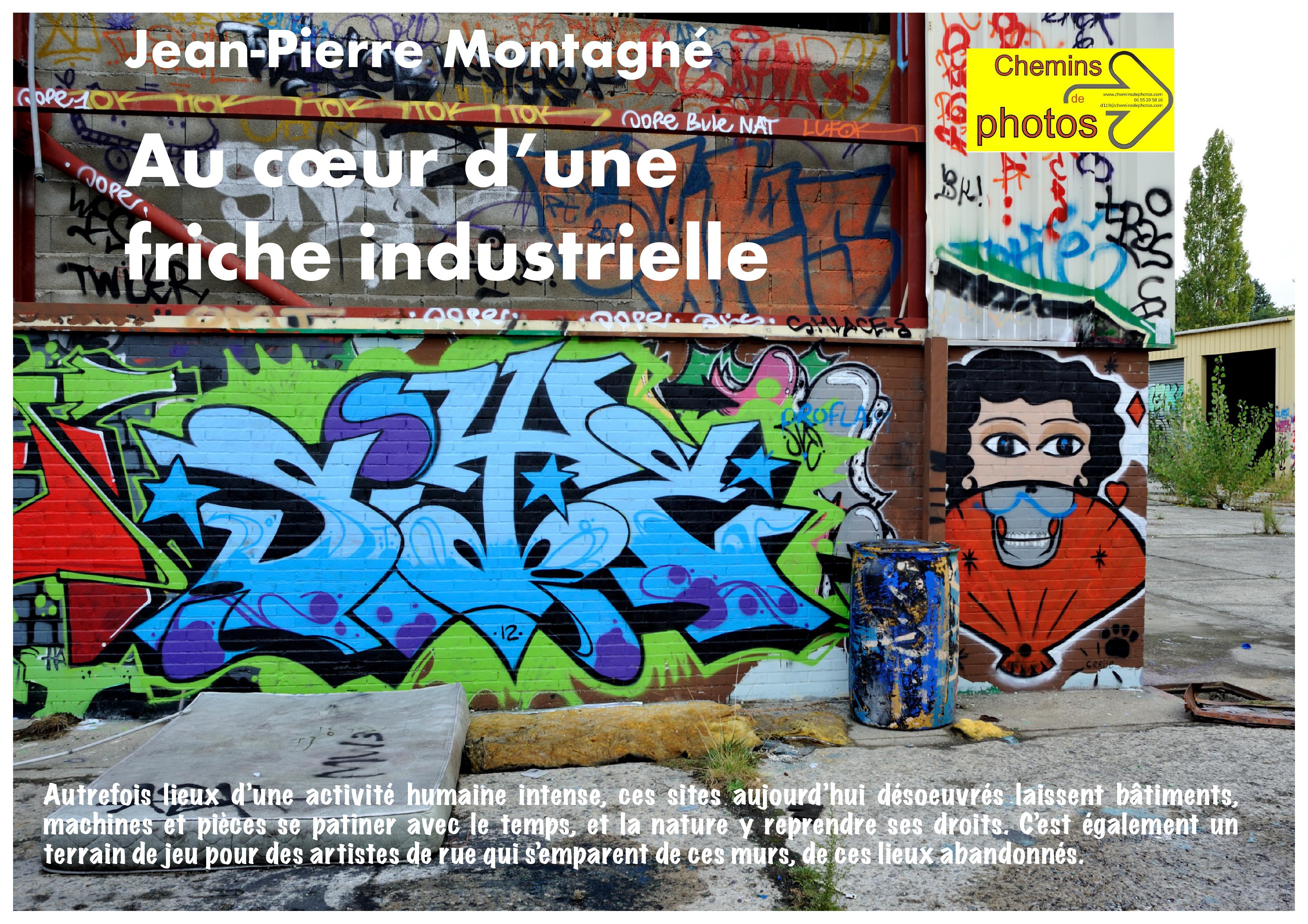 Friche industrielle - Jean-Pierre Montagné à Villasavary
