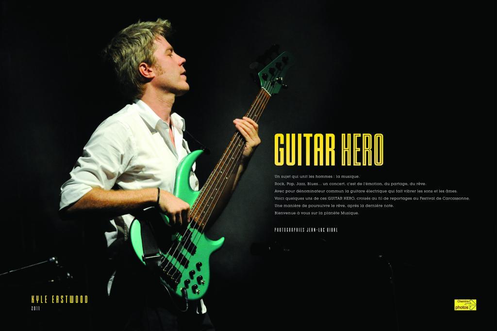 Guitar héros - Jean-Luc Bibal, à Belpech