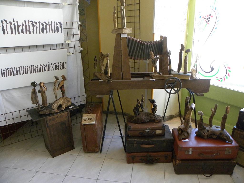 Anne Sarda et le Petit Peuple à l'Imprimerie de l' Hers- Mirepoix