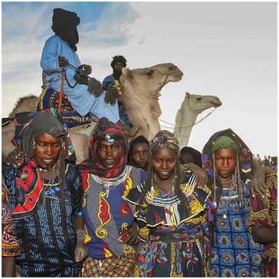 Jeunes filles peules