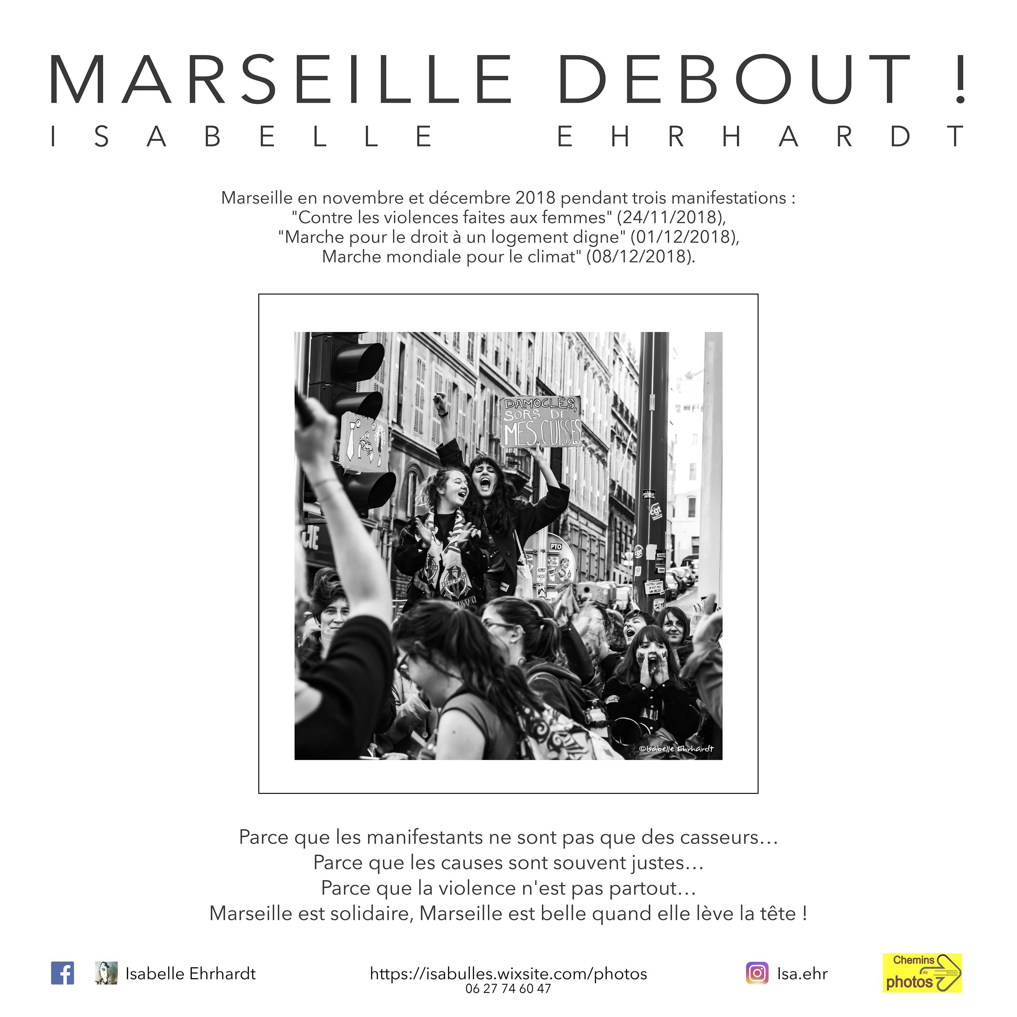 Marseille debout - Isabelle Ehrhardt à Ferran