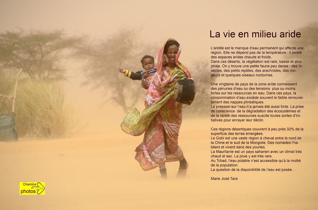 La vie en milieu aride - Marie-Josée Tack à Arzens