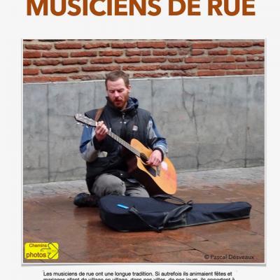 Musiciens de rue - Pascal Desvaux à Mazerolles