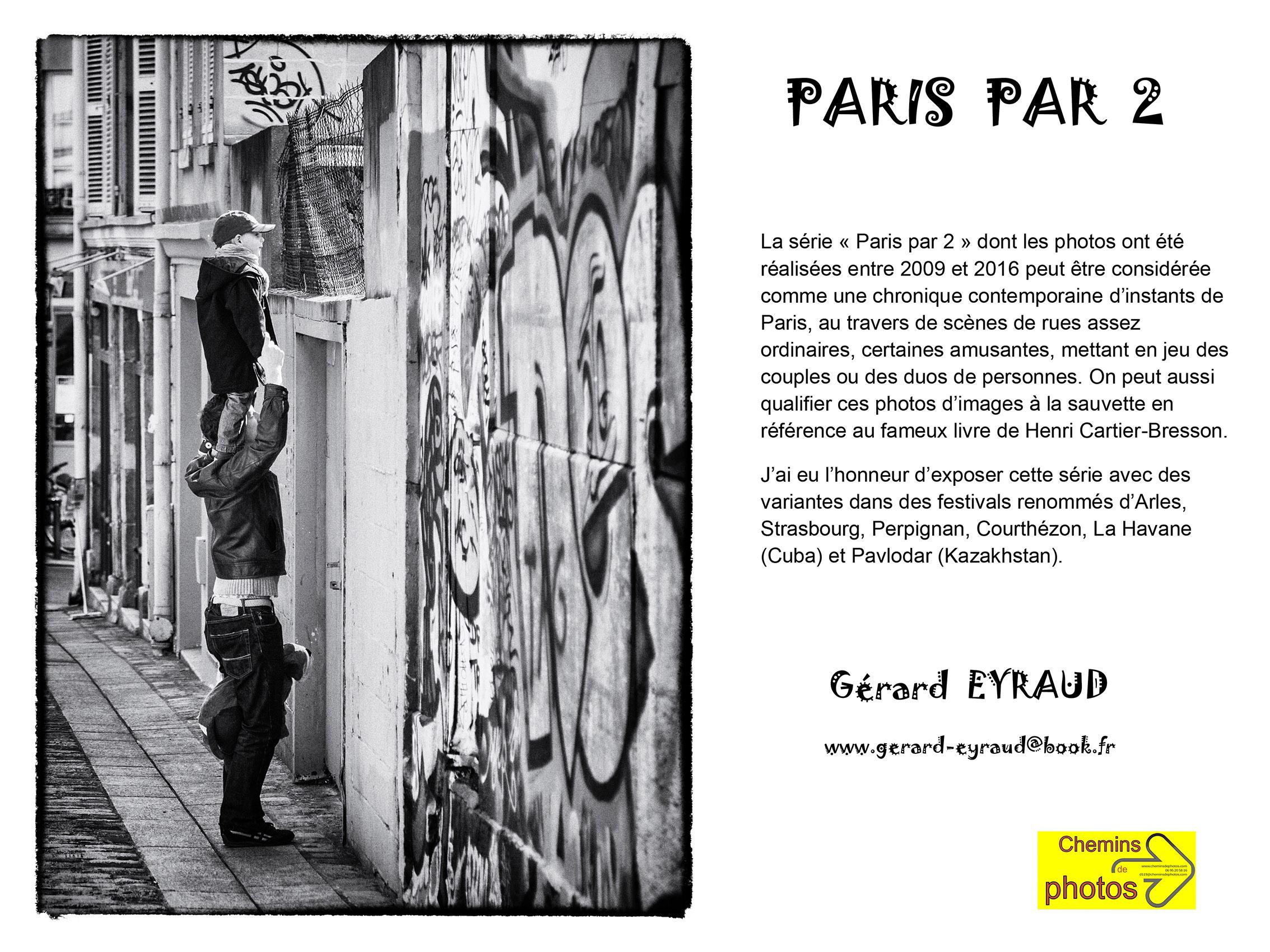 Paris par 2 -  Gérard Eyraud à Arzens, cave de la Malepère
