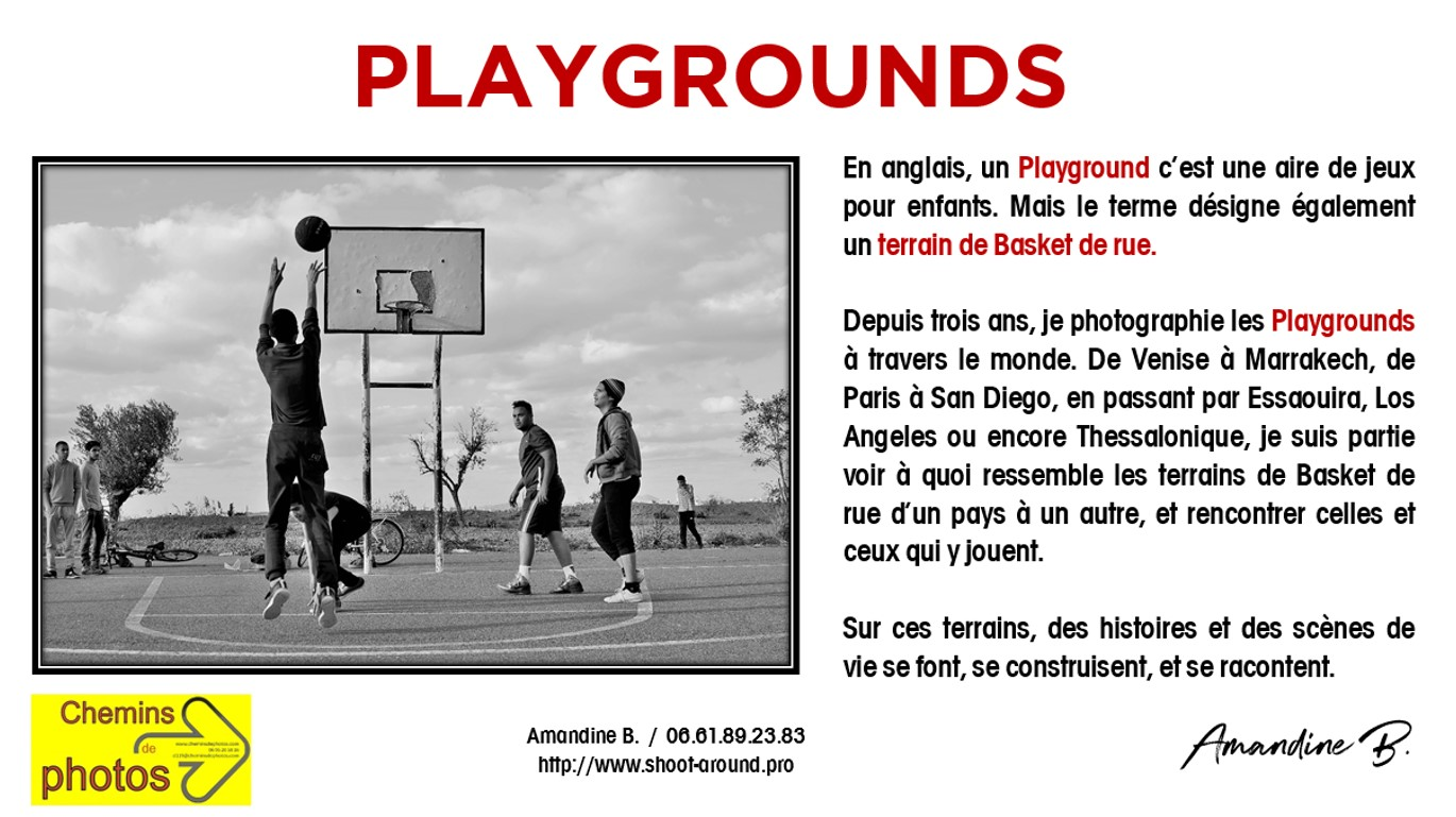 PLAYGROUNDS - Amandine B, à Laurac.