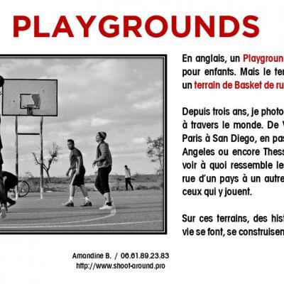 PLAYGROUNDS - Amandine B, à Laurac.