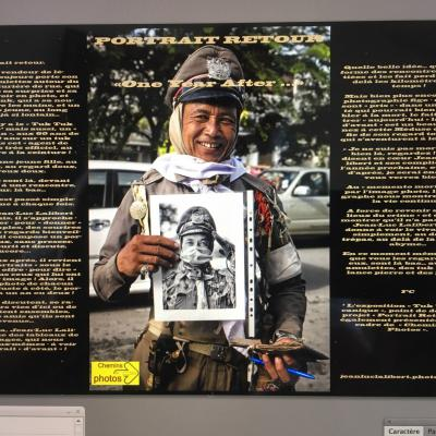 Portrait retour - Jean-Luc Lalibert à Ferran, église du 6/07 au 24/08