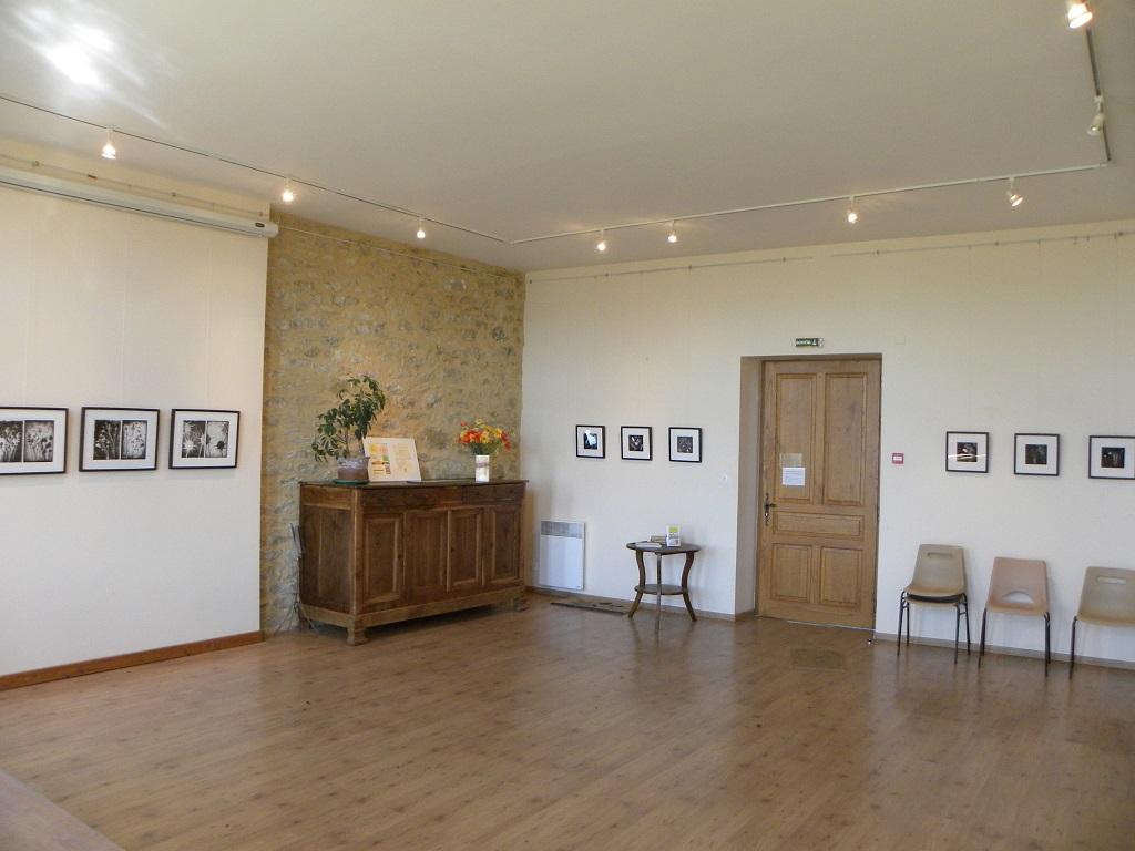 Hervé Baïs à Roumengoux - salle municipale.