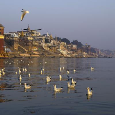 Varanasi backdrop