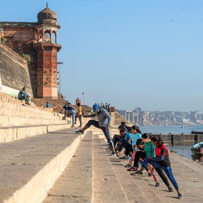 Varanasi fitness session