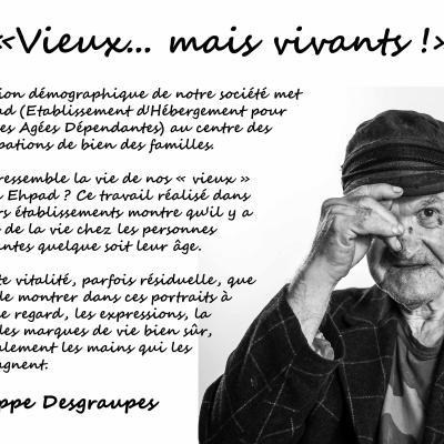 Vieux... mais vivants - Philippe Desgraupes à Ferran, salon photo
