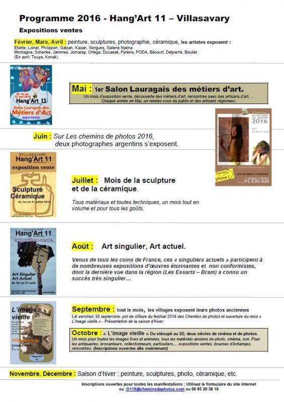 Affiche programme 2016