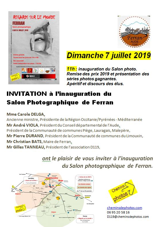 Capture invitation ferran 7 juillet