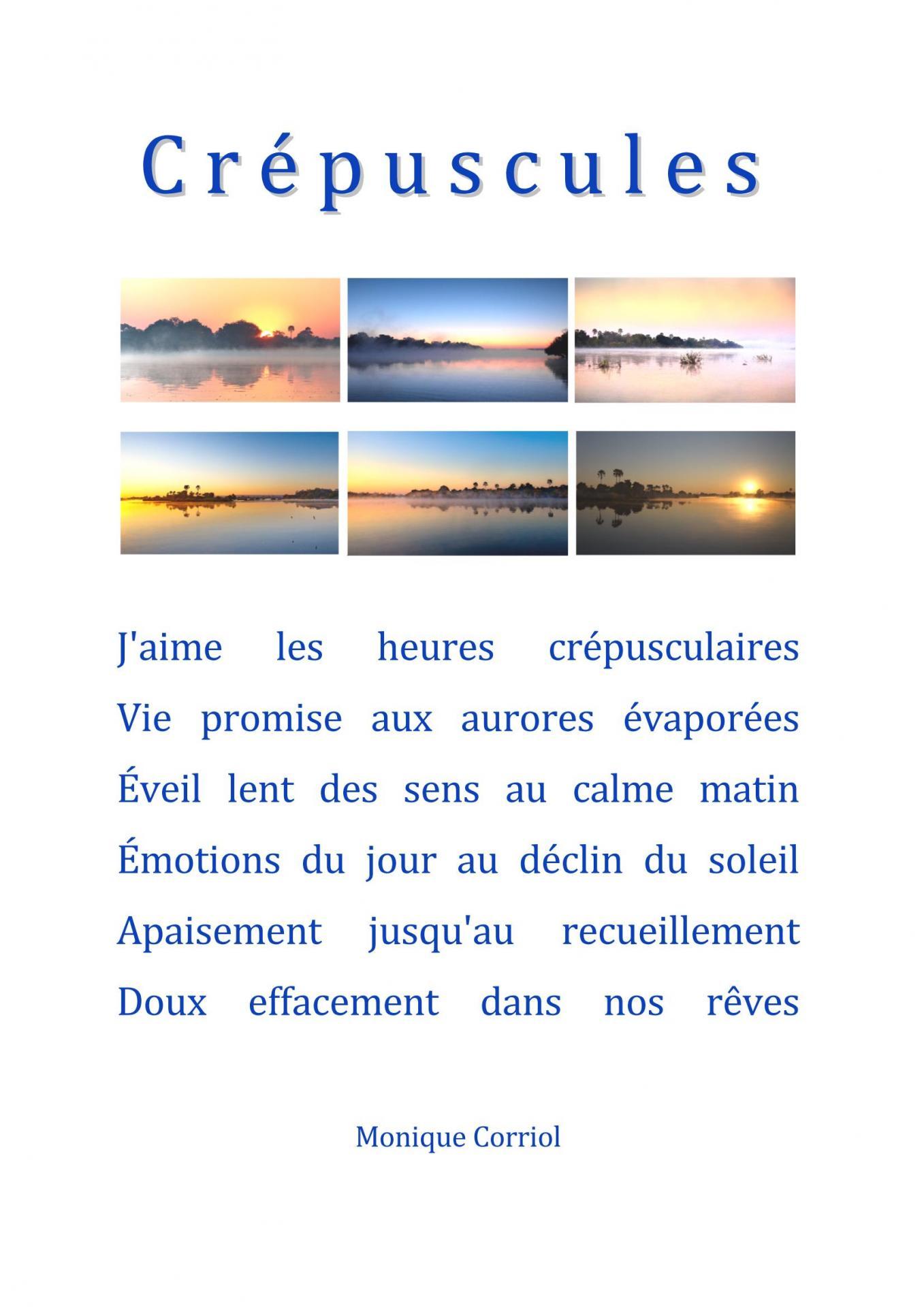 Corriol monique presentation serie crepuscules page 1